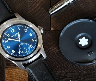 Montblanc brings its classic luxury to the smart watch movement