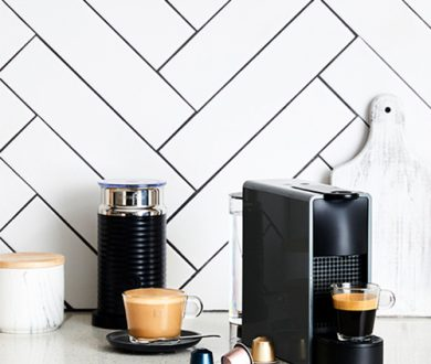 The coffee machine that doesn't clutter the countertop
