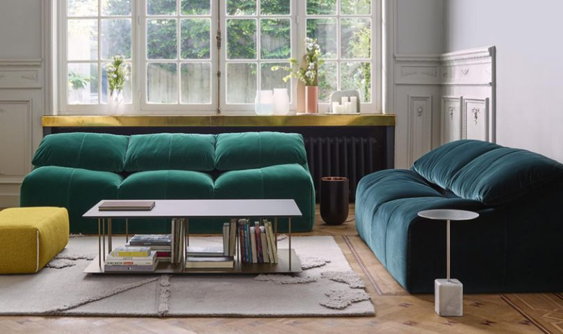 Meet one of the hottest interior trends of the year: jewel-toned velvet
