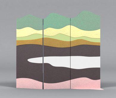 Screen by Alessandra Baldereschi for De Castelli