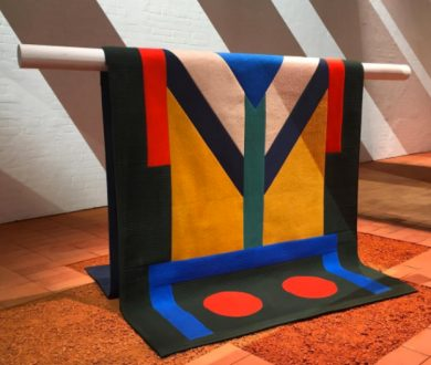 Nubi-quilted Cashmere Patchwork Throw by Seulgi Lee for Hermes