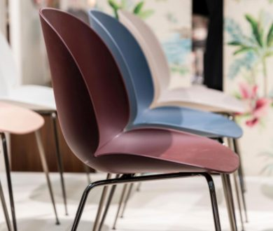 Unupholstered Beetle Chairs by Gubi