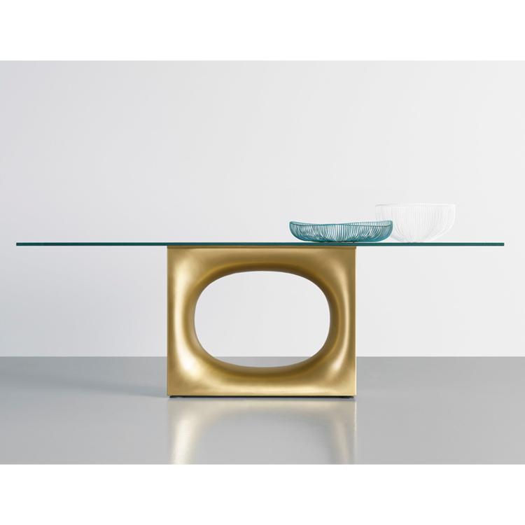 Holo Table Glass by Kensaku Oshiro for Kristalia