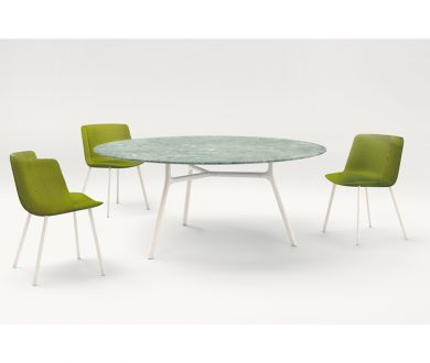 Adele Chair and Nesso Table by Francesco Rota for Paola Lenti