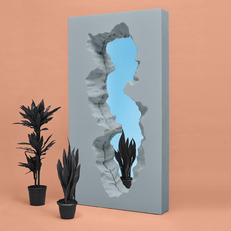 Broken Mirror by Snarkitecture for Gufram