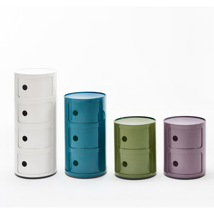 50 years of Componibili by Anna Castelli Ferrieri for Kartell