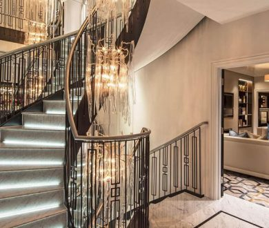 This luxurious townhouse showcases London living at its finest