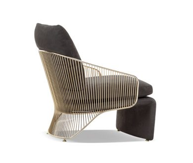 Elevate your interior with a chair of sophisticated extravagance
