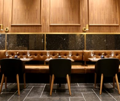A sophisticated new eatery ups the dining ante on Queen Street