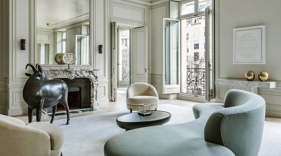 This Flawless Parisian Apartment Is A Masterclass In