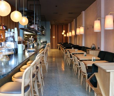 The inner-city welcomes Hugo's Bistro, a sleek all-day eatery