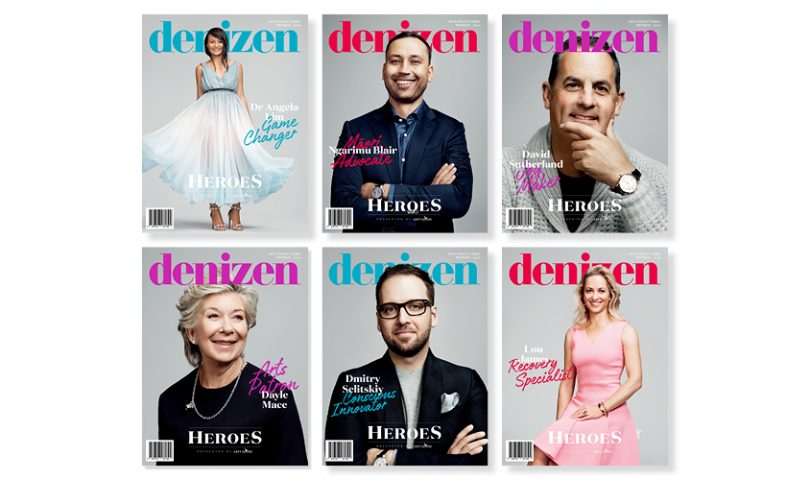 Our annual Denizen Heroes issue has just hit the shelves