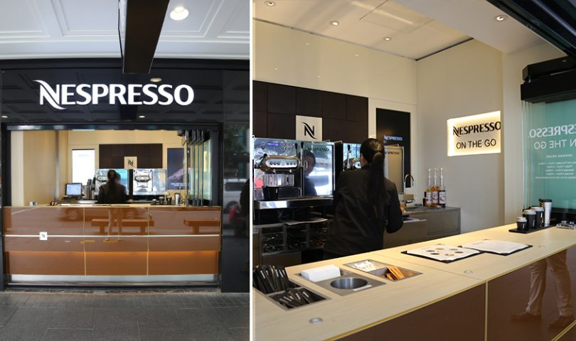 Nespresso's new coffee window is serving up your morning fix