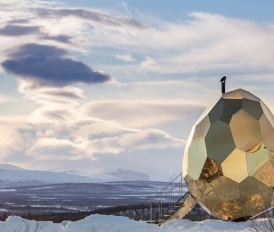 The golden Solar Egg that's heating things up in Sweden