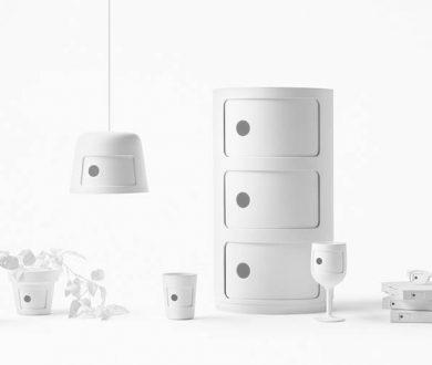 Kartell's most iconic design is reimagined by Japanese studio, Nendo