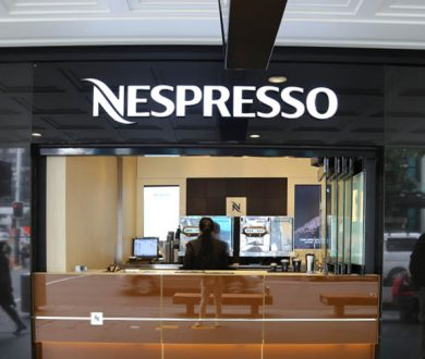 Nespresso's coffee window is serving up your quick morning fix