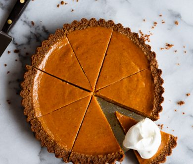 Hello Pumpkin — we indulge our affinity for pumpkin pie