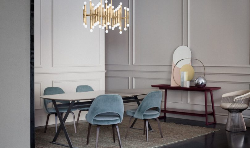 This sophisticated Milanese home is mid-winter elegance at its finest