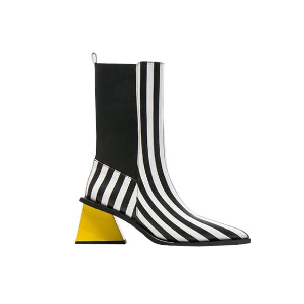 Bold: Marques' Almeida Pointy Mid-heel boot