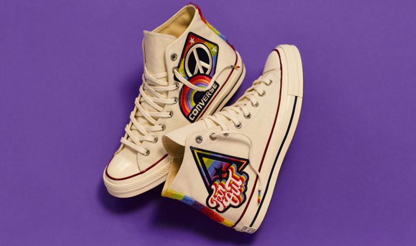 Have you seen the new Converse Pride Collection? They're fabulous