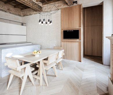 Raw elegance — explore the ultra sophisticated Italian apartment, Casa RJ