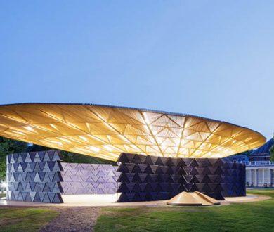 The tree-inspired Serpentine Pavilion by Diébédo Francis Kéré