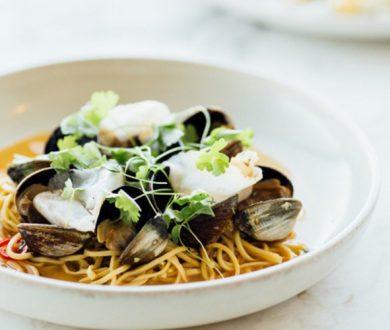 Euro's clam spaghetti