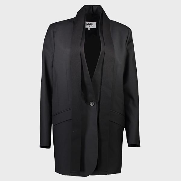 MM6 blazer with necktie
