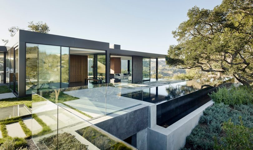 Explore this impeccable contemporary residence in Southern California