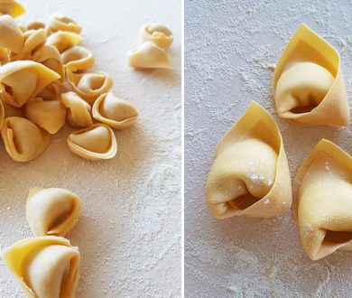 Pasta & Cuore's butter and sage tortelloni