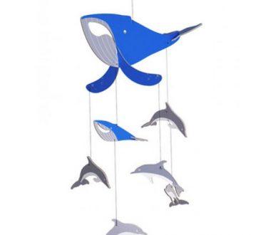 Flipper hanging mobile by Nuzilla