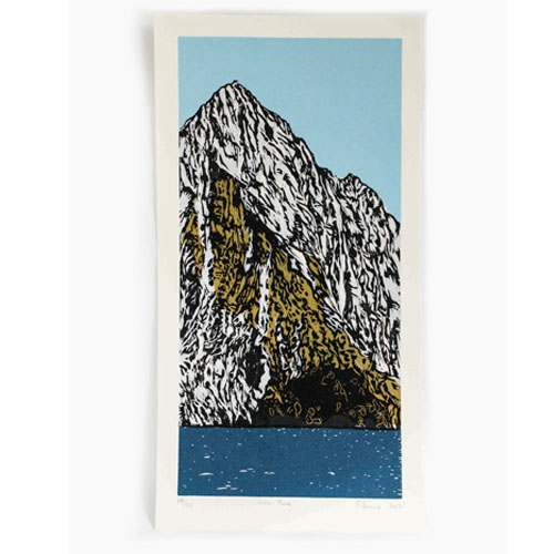 Mitre Peak print by Nic Tucker
