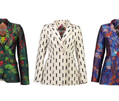 WORLD's new collection heralds the rise of the statement blazer