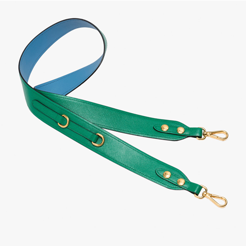 Sea Blue guitar strap