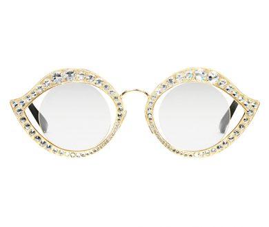 Gucci cat-eye embellished sunglasses