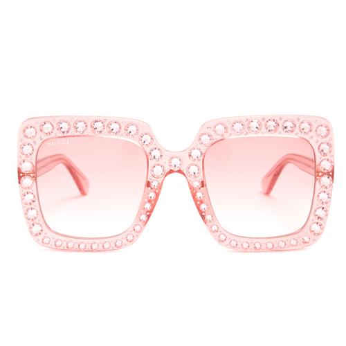 Gucci oversized embellished sunglasses