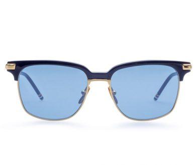 Thom Browne blue lens sunglasses