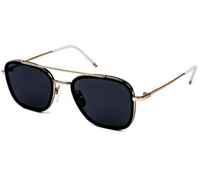 Thom Browne square aviator sunglasses