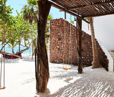 This beachfront estate, once owned by Pablo Escobar, is Tulum's best-kept secret