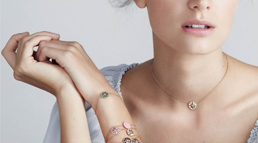 Dior S Lucky Charm Was The Inspiration Behind The Rose Des Vents