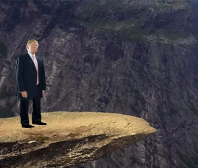 Push Trump off a Cliff Again is the perfect Friday activity