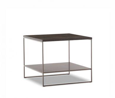 Calder Bronze coffee table square by Rodolfo Dordoni