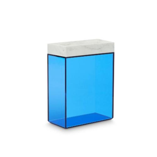 Lid tall glass storage by Tom Dixon