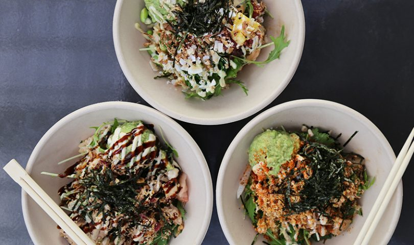 HA! Poke is cleverly catering to our morning and midday cravings