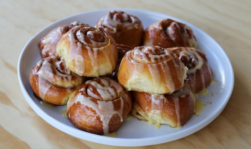 New Windsor's Hare and the Turtle is doing the best cinnamon scrolls in town