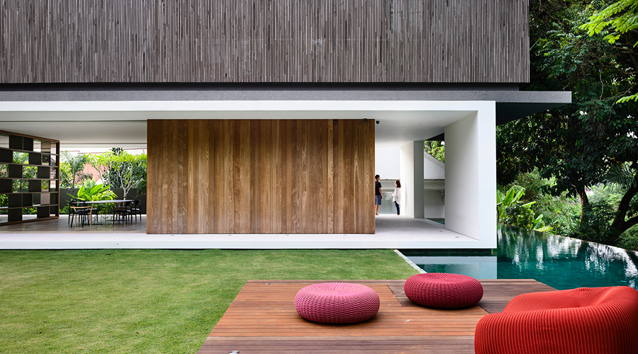 This pared back Singaporean home is what contemporary  : ONGONGs KAP House 23 from www.thedenizen.co.nz size 900 x 500 jpeg 498kB