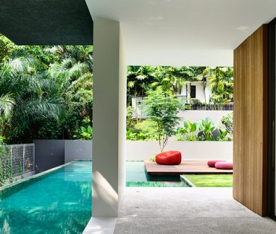 This pared back Singaporean home is what contemporary dreams are made of
