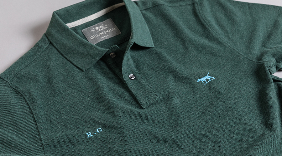 rodd and gunn personalised polos are the perfect present