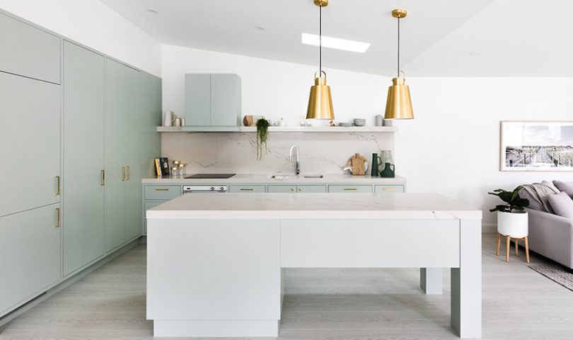 This Sydney home boasts a kitchen that is at once retro and modern