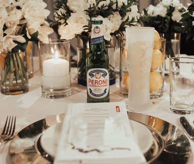 The evening that was Peroni's 'Cena con Amici'